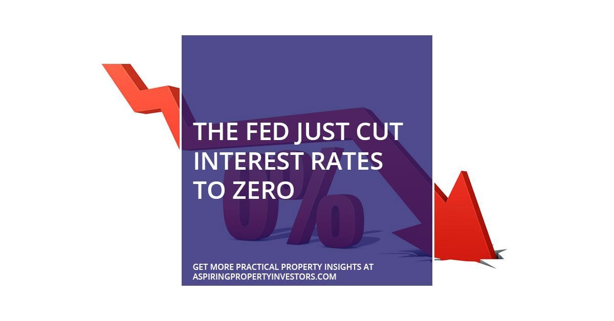 The Fed just cut interest rates to zero