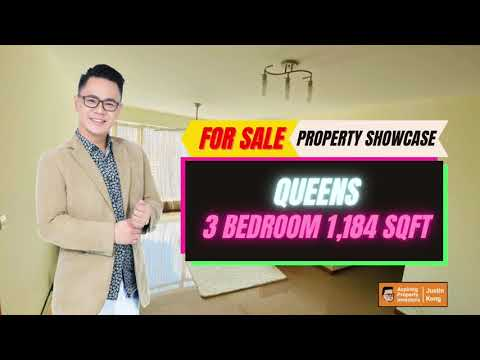 Queens 3 Bedroom 1,184sqft for Sale by Justin Kong
