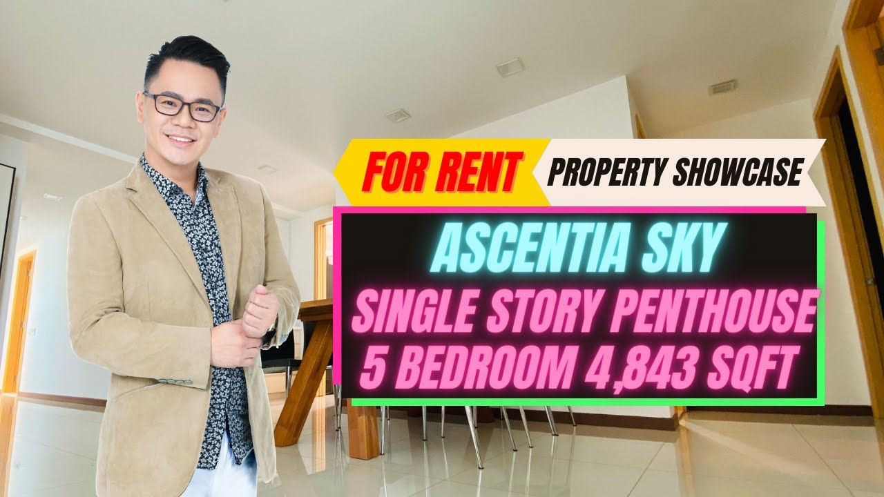 Ascentia Sky Single Storey Penthouse for Rent by Justin Kong