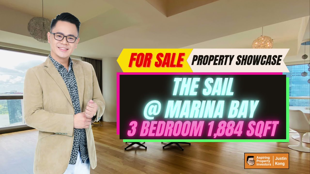 Unbelievable Views at The Sail @ Marina Bay 3 Bedroom 1,884sqft for Sale By Justin Kong